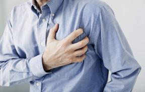 THC zawał serca