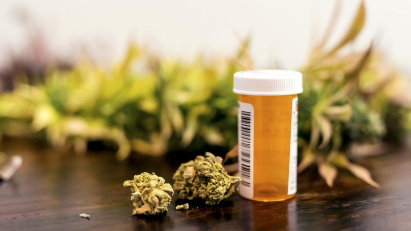 medyczna marihuana policja