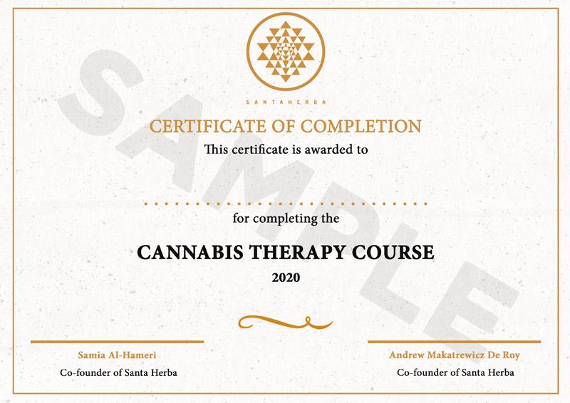 Santa Herba certyfikowane szkolenie konopne