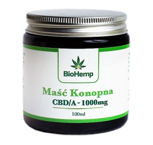 Maść Konopna BioHemp