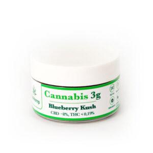 Blueberry Kush cannabis susz CBD BioHemp