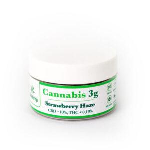 Strawberry Haze cannabis susz CBD BioHemp