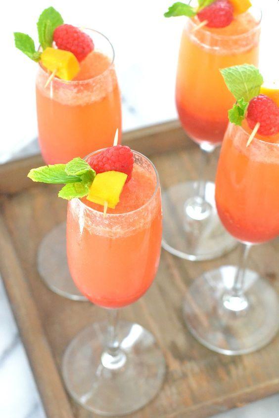 CBD walentynki drink mango maliny