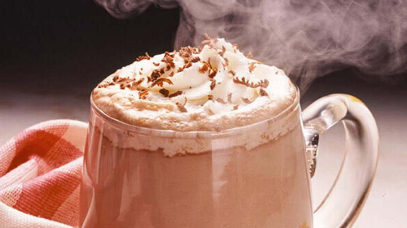 CBD walentynki gorąca czekolada