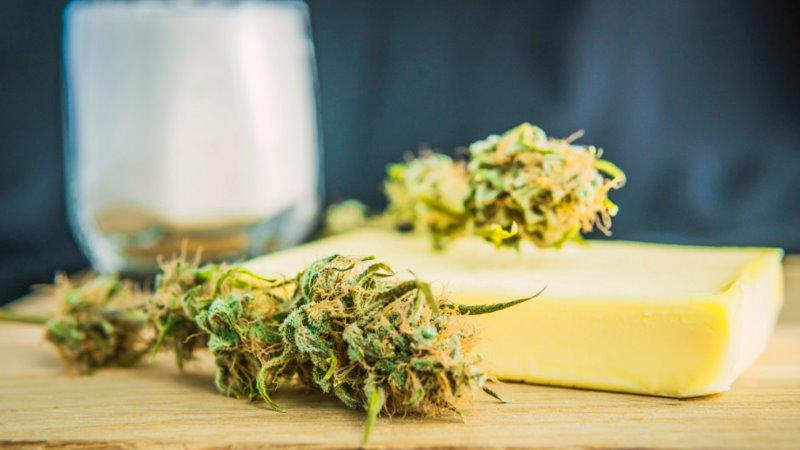 cannabutter masło konopne