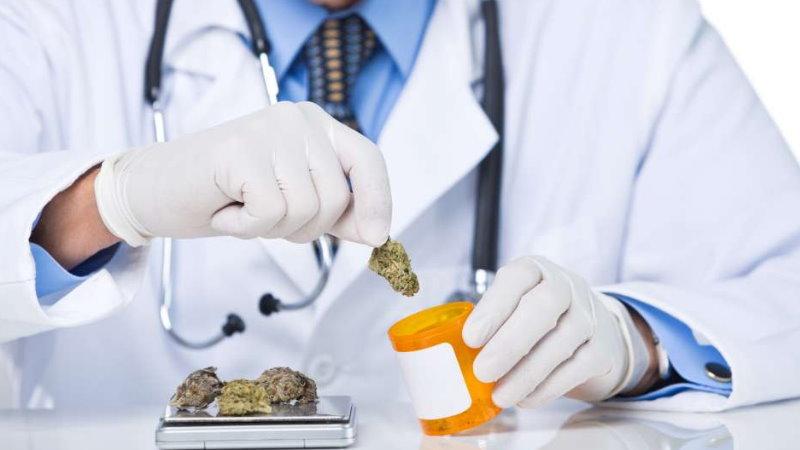 medyczna marihuana ból