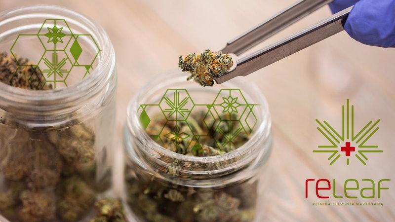 medyczna marihuana choroby psychiczne Releaf