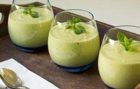 smoothie z białkiem konopnym