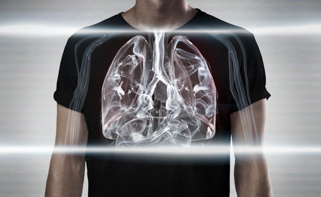 wstrzymywanie dymu